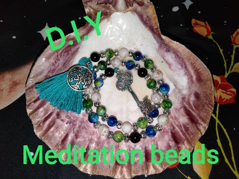 D.I.Y - Meditation Beads