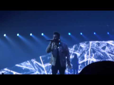 The Weeknd - often PARIS (live 2017, Starboy: Legend of the Fall Tour)