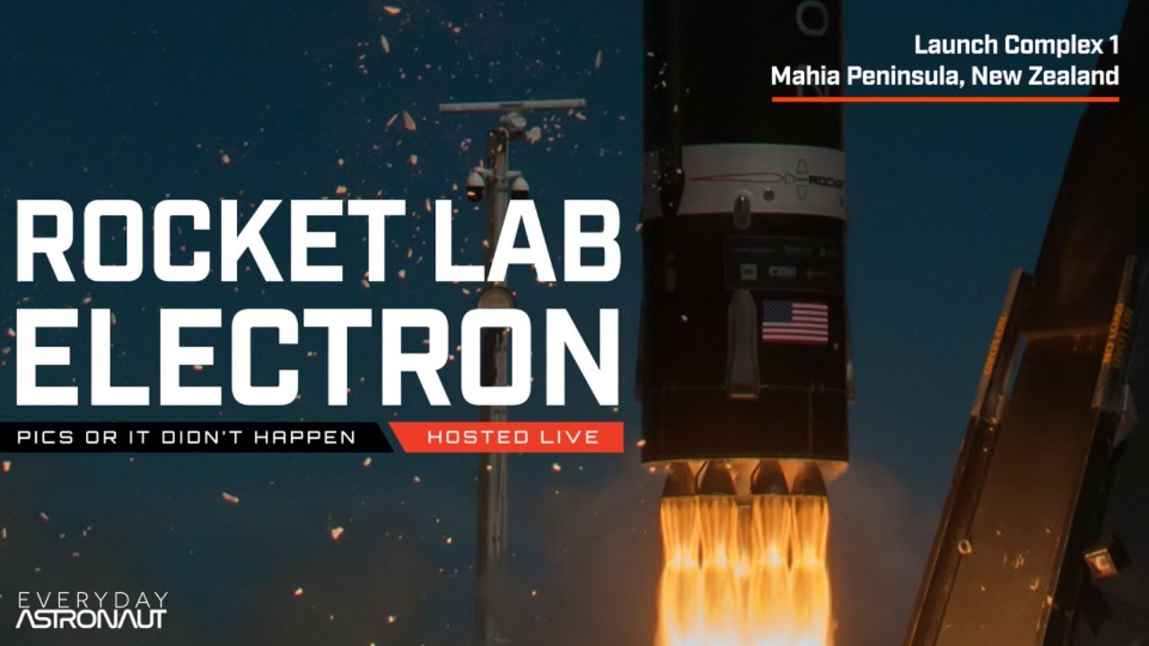 Watch Rocket Lab launch their Electron Rocket! (Pics or it didn't happen)