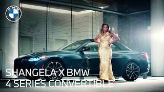 homepage tile video photo for Shangela & the 2021 BMW 4 Series Convertible: Unmatched Fashion   BMW USA