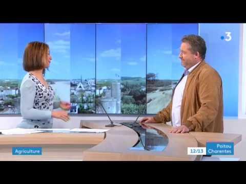 Guillaume Riou,  nouveau président de la fédération nationale de l'agriculture biologique