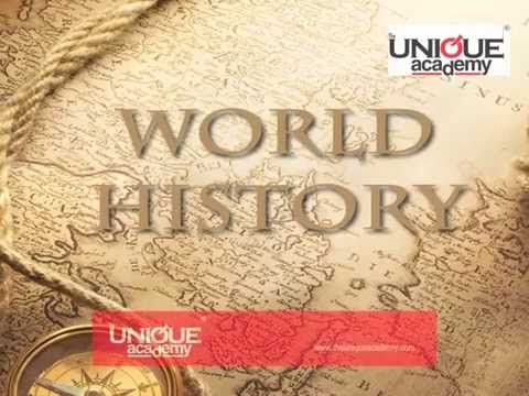 World History - UPSC General Studies By Anurag Singh
