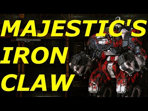 MWO- MAJESTIC SERIES- RESISTANCE HEROES- FLORENTINE- THE IRON CLAW
