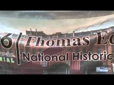 Thomas Edison West Orange New Jersey Youtube