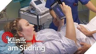Frau will ihr Tablet selbst bei der Geburt nicht aus der Hand geben | Klinik am Südring | SAT.1 TV