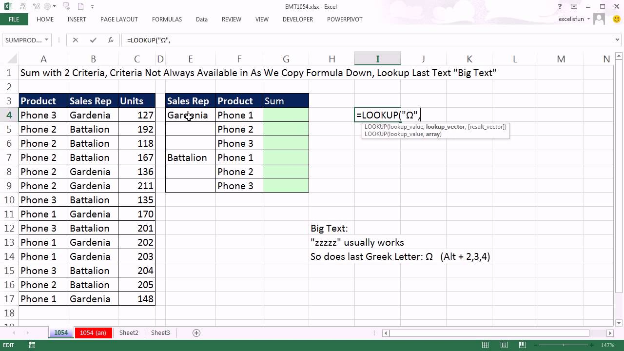 excel magic trick 1054 change absolute cell reference each time