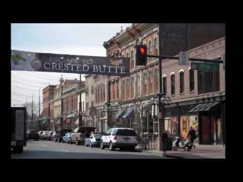Paseando por Denver Colorado Cityscapes