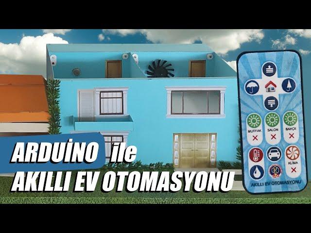 Arduino ile Ak?ll? Ev Otomasyonu (Smart Home Automation)