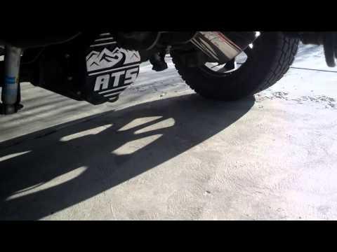8 inch tip axle dump exhaust cool
