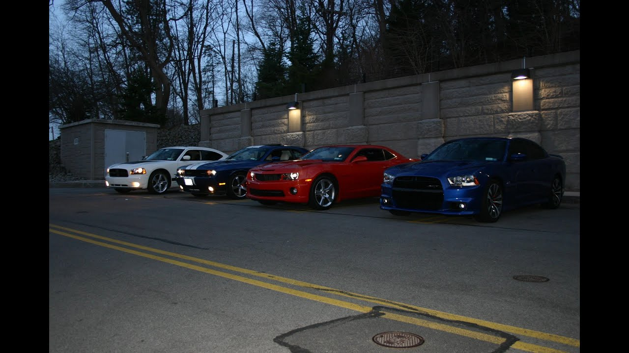 Charger Vs Challenger >> SRT8 392 Charger -vs- SRT8 392 Challenger -vs- Camaro SS ...