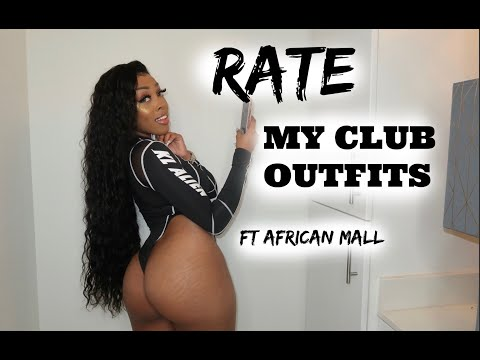 IS AFRICAN MALL WORTH IT?! RATE MY CLOTHES WITH ME | Ashley Deshaun
