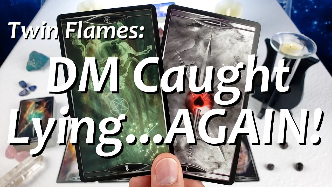 Twin Flames: DM CAUGHT LYING 😳 Messages From Divine Masculine 08/09 - 08/15 2020