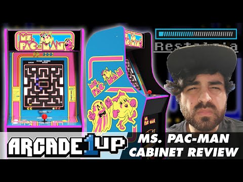 Ms. Pac-Man Arcade1UP Review... Is it really that bad? from Restalgia