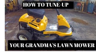Download Happy Easter And Changing The Oil In Grandmas Cub Cadet