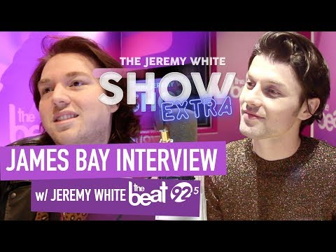 James Bay Talks Montreal Audiences, New Hair and Electric Light! | Jeremy White Interview