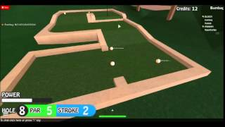 Roblox Mini Golf - E