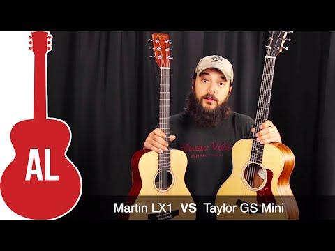 Taylor GS Mini VS Martin LX1