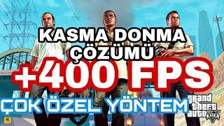 GTA 5 FPS ARTTIRMA FİVEM ONLİNE DONMA SORUNU ÇÖZÜMÜ (%100)