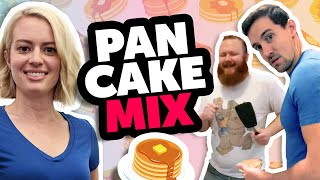 Rooster Teeth Remix - PANCAKE MIX - Ft. Elyse Willems, James Willems & Jon Smith of Funhaus