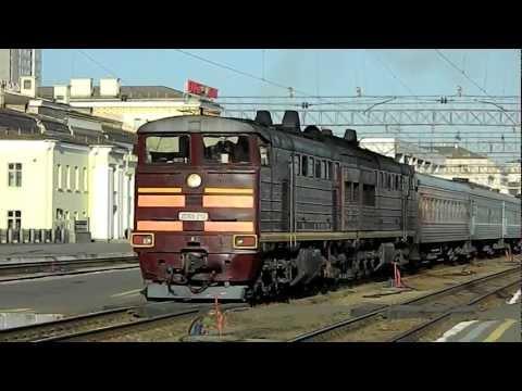 """Дал медведя"" 2ТЭ10У-210/214, ст.Екатеринбург-пасс"