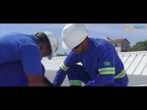 Time Lapse AquaRio/Faro Energy inaugura maior telhado solar do Brasil