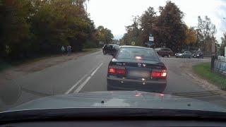 Niebezpieczne zachowanie na skrzyżowaniu ul.Stacha Konwy
