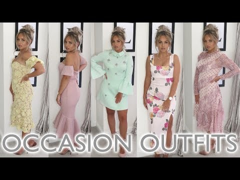 WHAT TO WEAR TO A WEDDING   OCCASION DRESSES   Lucy Jessica Carter