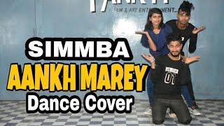 AANKH MAREY DancenCover(Ranveer Singh,Sara Ali Khan)SIMMBA (Choreography By Bikash Bicky Rdx)
