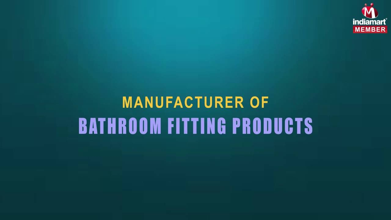 Bathroom fitting manufacturers - Bathroom Fitting Products By Bharmal Plastic Industries Mumbai