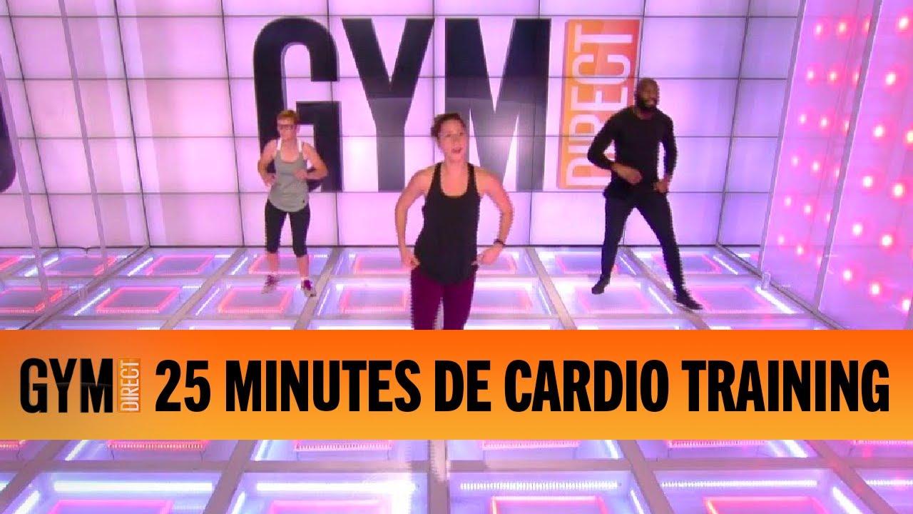 25 MINUTES DE CARDIO TRAINING - GYM DIRECT