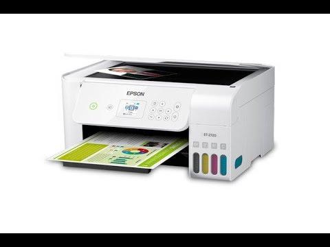 Epson ET 2720 - Unboxing Setup & Review