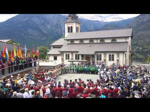 Gesamtspiel, Musikfest Bezirk Brig in Termen