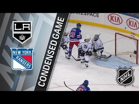 Los Angeles Kings vs New York Rangers – Dec. 15, 2017 | Game Highlights | NHL 2017/18. Обзор матча