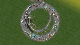 Cities Skylines - Most Satisfying Roundabout #The Funnel# [4K]