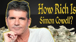 How Rich Is Simon Cowell? Net Worth 2017