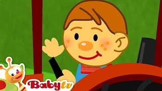 Nursery Rhymes - The farmer in the dell, BabyTV