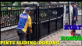 Contoh Pintu Sliding Besi Pagar Rumah Cute766