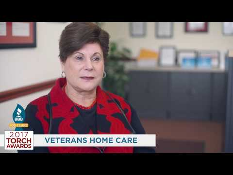 BBB Honors Veterans Home Care with Torch Award