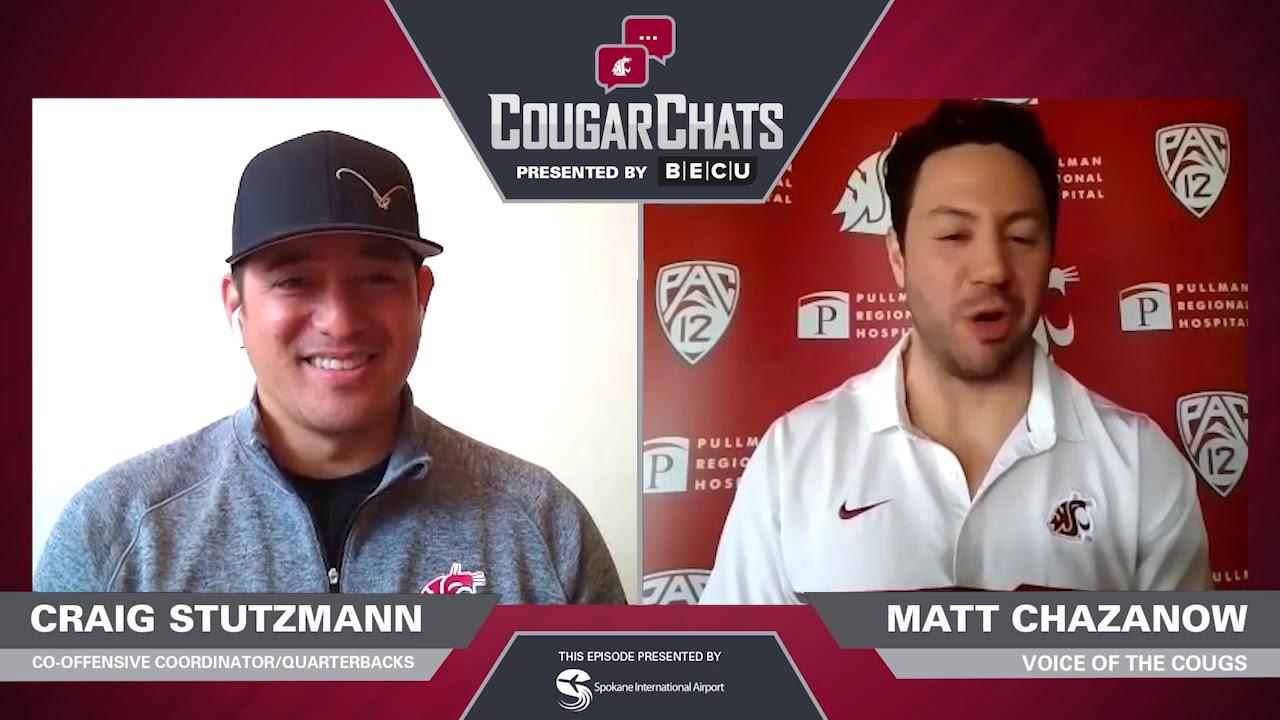 Image for WSU Athletics: Cougar Chats with Coach Craig Stutzmann webinar