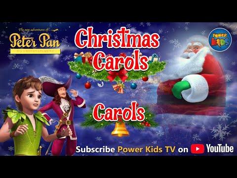 Peter Pan Singing Christmas Songs | Non Stop Popular Christmas Carols | Peter Pan | Power Kids