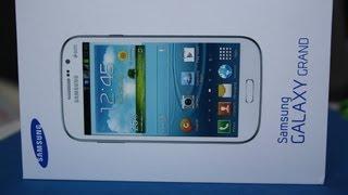 Samsung Galaxy Grand Duos - Unboxing deutsch