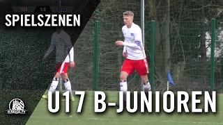 Hamburger SV - Niendorfer TSV (U17 B-Junioren, Bundesliga Nord/Nordost) - Spielszenen | ELBKICK.TV
