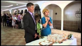 Свадьба Анастасии и Максима Ермолаевых. Поздравление родителей невесты