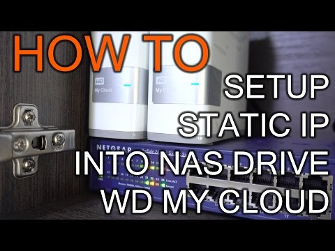 How To set Static IP To WD My Cloud - YouTube