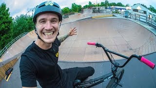 NEW BMX TRICK FINALLY PULLED!!