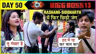 Siddharth Shukla UGLY Argument With Rashami Desai Over Kitchen Duty | Bigg Boss 13 Episode Update