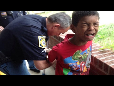 5 Year Old Gets Arrested! MUST WATCH!!!