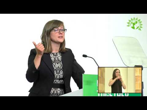 Alice Hooker-Stroud, Wales Green Party Leader speech to Autumn Conference