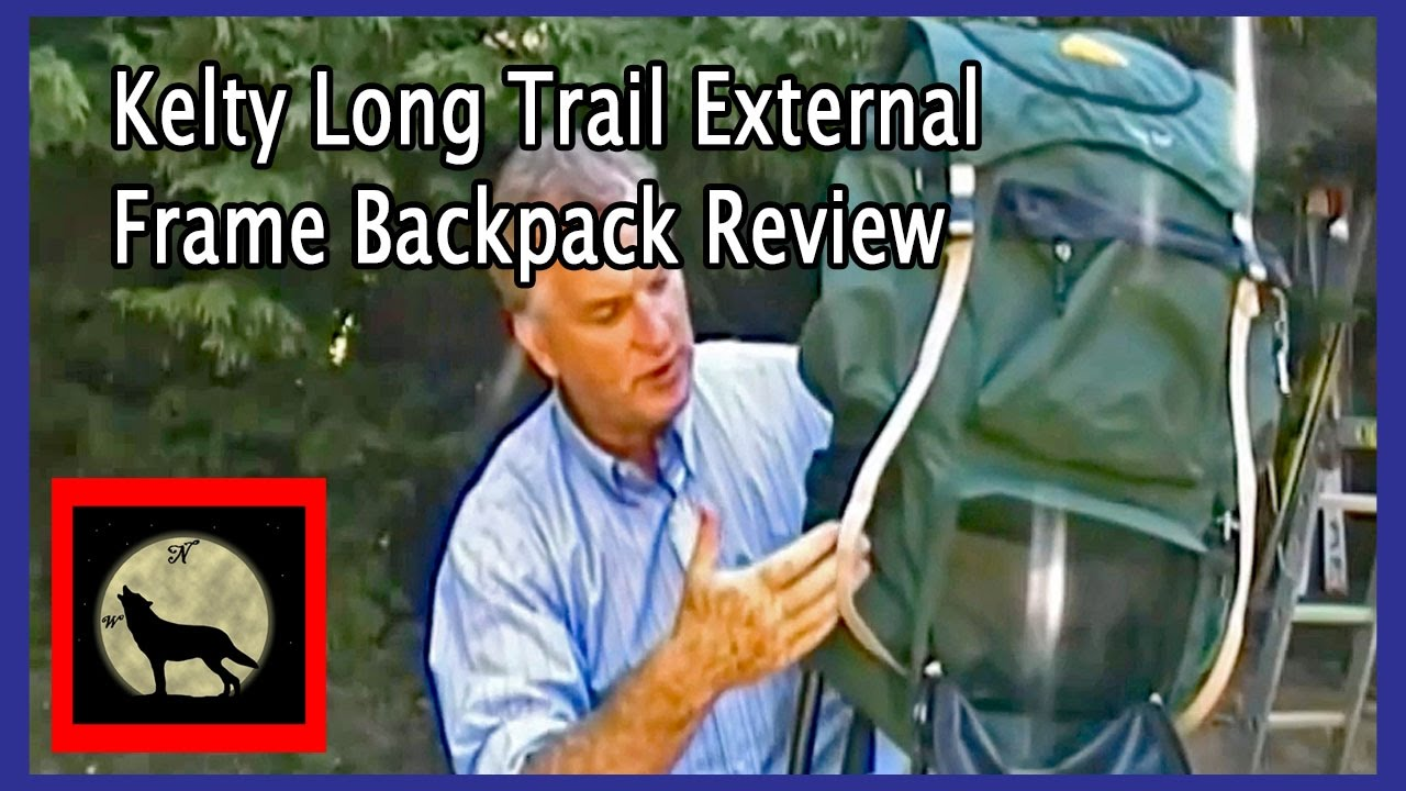 Kelty Long Trail External Frame Backpack Review - YouTube