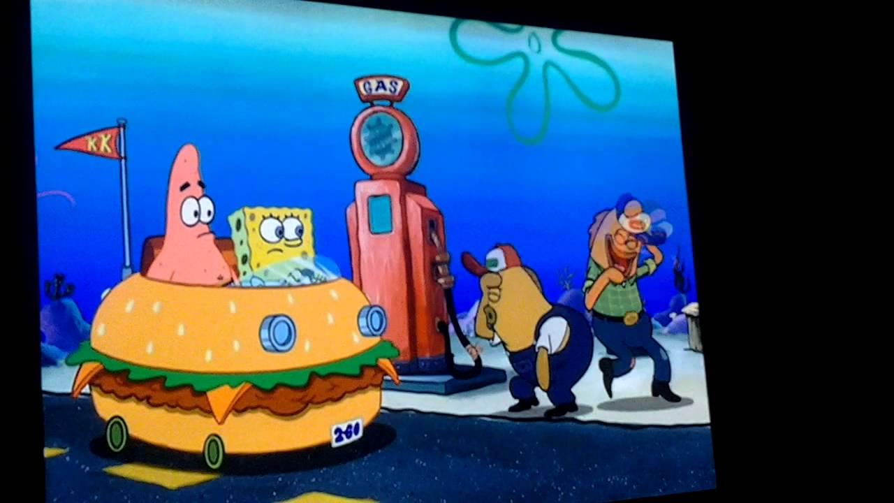 Spongebob Spongebob Movie The Spongebob Squarepants Movie gas station YouTube